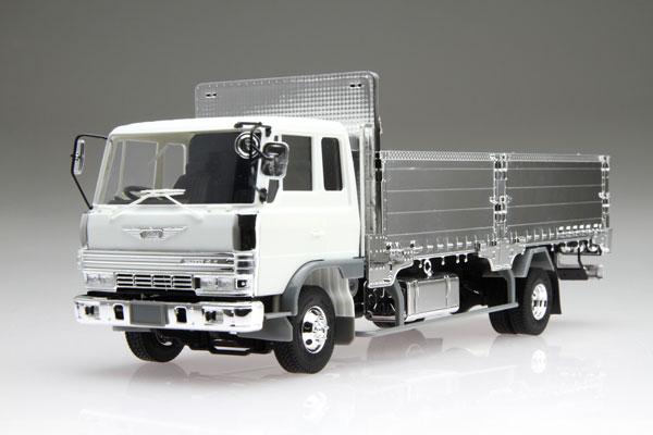 1/32 Hataraku Truck Series No.9 Hino Ranger 4D Shutter Grill Flat Body Style  Plastic Model(Released)(1/32 はたらくトラックシリーズ No.9 日野レンジャー 4D シャッターグリル 造り平ボディ仕様 プラモデル)