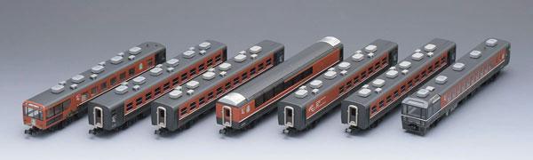 92877 JR 12系客車(ばんえつ物語・オコジョ展望車)セット(7両)(再販)[TOMIX]【送料無料】《02月予約》