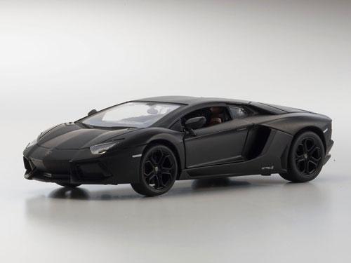 Kyosho Egg 1/24 NEW Metal Drive RC Lamborghini Aventador LP700 Matte Black(Released)(京商エッグ 1/24 NEWメタルドライブRC ランボルギーニ アヴェンタドール LP700 マットブラック)
