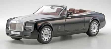 Kyosho Original 1/12 Rolls-Royce Phantom Drophead Coupe (Diamond Black)(Released)(京商オリジナル 1/12 ロールス・ロイス ファントム ドロップヘッド クーペ(ダイヤモンドブラック))