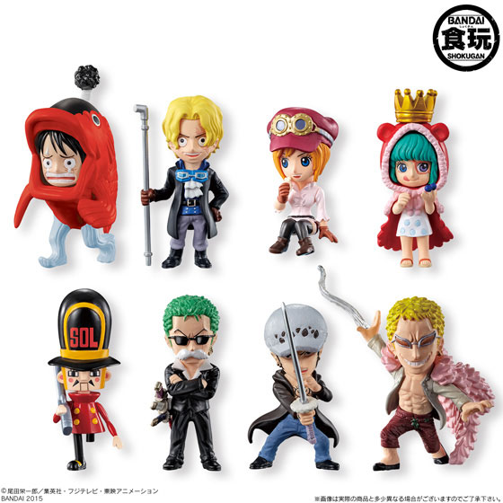 (New Item w/ Box Damage)ONE PIECE Collection Dressrosa no Himitsu 12Pack BOX (CANDY TOY)