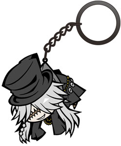 Black Butler: Book of Circus - Pinched Keychain: Undertaker(Released)(黒執事Book of Circus 葬儀屋つままれキーホルダー)