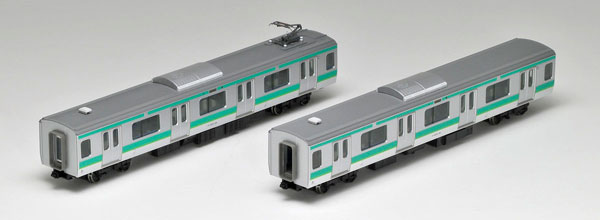 HO-9007 JR E231 0系通勤電車(常磐・成田線)増結セット(2両)[TOMIX]《取り寄せ※暫定》