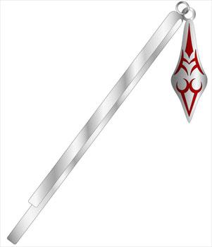 Koubutsu-ya - Fate/stay night: Petite Metal Series (Hair Pin) 01. Saber(Pre-order)(コウブツヤ Fate/stay night ぷちメタルシリーズ ヘアピン 01.セイバー)
