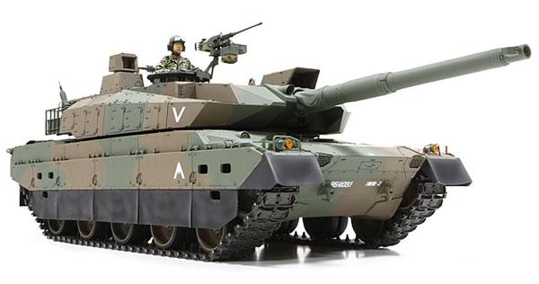 1/16 ビッグタンクシリーズ 陸上自衛隊 10式戦車(ディスプレイタイプ) プラモデル[タミヤ]【送料無料】《取り寄せ※暫定》