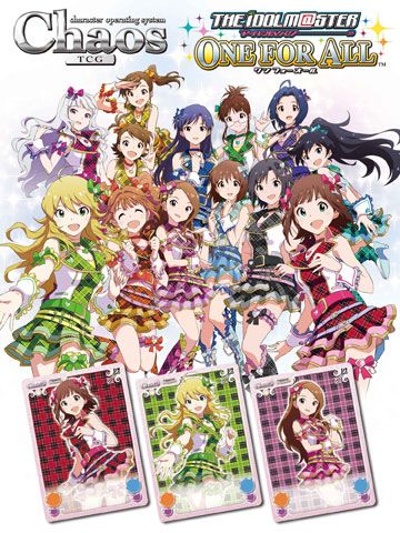 Chaos TCG Booster - IDOLM@STER One For All 20Pack BOX (w/BOX Bonus: Sleeve + PR Card)