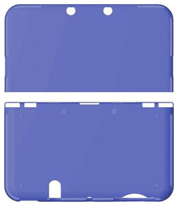 CYBER Premium Protect Cover (for New 3DS LL) Clear Navy(Back-order)(CYBER・プレミアムプロテクトカバー (New 3DS LL用) クリアネイビー)