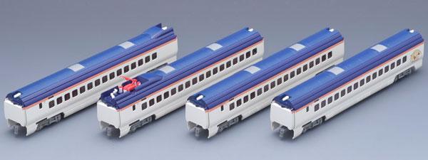 92565 JR E3 2000系 山形新幹線(つばさ・新塗装) 増結セット (4両)[TOMIX]《取り寄せ※暫定》
