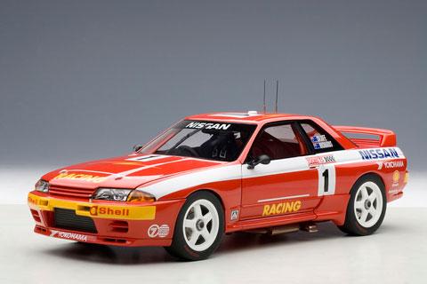 1/18 日産 スカイライン (R32) GT-R ATCC 1992年 バサースト 1000kmレース 優勝 #1(レッド)[オートアート]《取り寄せ※暫定》