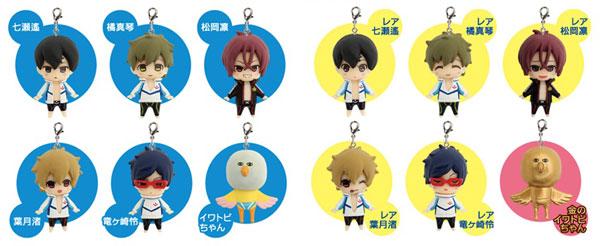 Free! Eternal Summer - Minikko Figure 10Pack BOX(Back-order)(Free! -Eternal Summer- みにっこフィギュア 10個入りBOX)