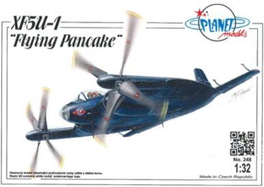 1/32 XF5U-1 「フライングパンケーキ」フルレジンキット[プラネットモデル]《取り寄せ※暫定》