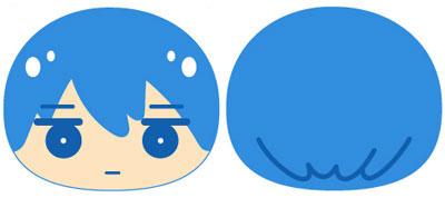 Free! Eternal Summer - Big Omanjuu Cushion Vol.1 Haruka(Back-order)(Free!-EternalSummer- ビッグおまんじゅうクッションvol.1/はるか)