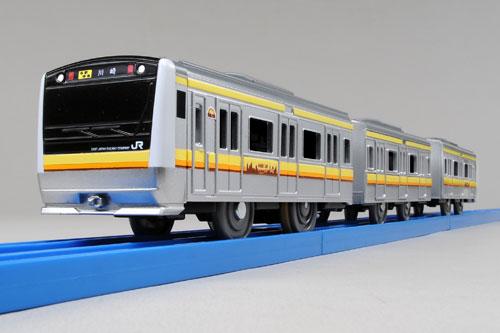 PlaRail - Boku mo Daisuki! Tanoshii Ressha Series: E233 Series Nanbu Line(Released)(プラレール ぼくもだいすき!たのしい列車シリーズ E233系南武線)