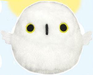 Tori Dango - Snowy Owl Plush(Back-order)(とりだんご シロフクロウ ぬいぐるみ)