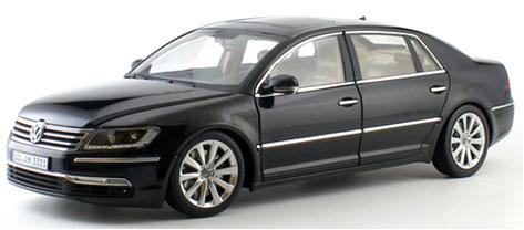 1/18 VW PHAETON (ブラック) GTAシリーズ[WELLY]【同梱不可】【送料無料】《取り寄せ※暫定》
