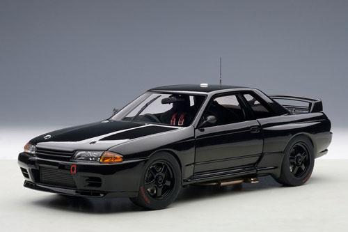 1/18 日産 スカイライン (R32) GT-R ATCC バサースト プレーンボディ (ブラック)[オートアート]《取り寄せ※暫定》