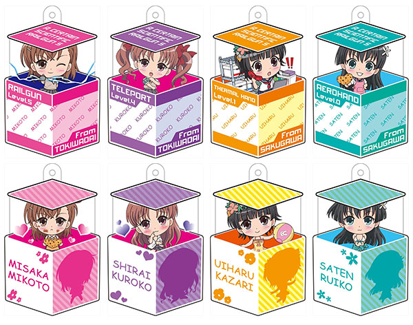 Hakoiri Musume - Toaru Kagaku no Railgun S 8Pack BOX(Back-order)(箱入り娘 とある科学の超電磁砲S 8個入りBOX)