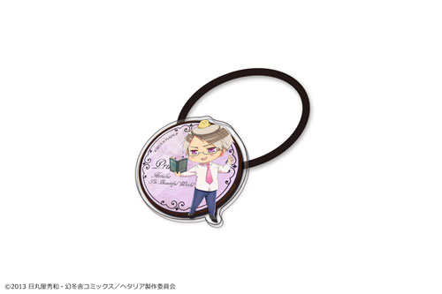 Hetalia The Beautiful World - Acrylic Hair Tie 09. (Prussia)(Released)(「ヘタリア The Beautiful World」アクリルヘアゴム 09(プロイセン))