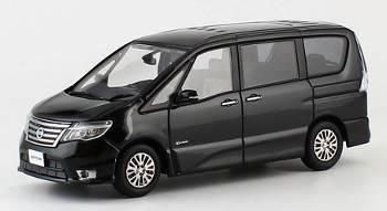 Kyosho Original 1/43 NISSAN SERENA Highway STAR G 2014 (Diamond Black)(Back-order)(京商オリジナル 1/43 NISSAN SERENA Highway STAR G 2014(ダイヤモンドブラック))