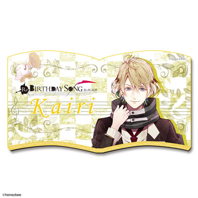 Shinigami Kareshi Series Re:BIRTHDAY SONG -Koi wo Utau Shinigami- Magnet Sheet: Design 01 (Kairi)(Pre-order)(死神彼氏シリーズ Re:BIRTHDAY SONG-恋を唄う死神- マグネットシート デザイン01(カイリ))