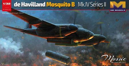 1/32 デ・ハビランド モスキート B Mk.IV シリーズII プラモデル[HK MODEL]《取り寄せ※暫定》