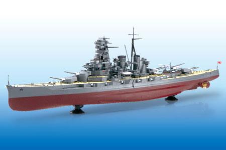 1/350 アイアンクラッド〈鋼鉄艦〉 日本海軍戦艦 霧島リテイク プラモデル[アオシマ]《取り寄せ※暫定》