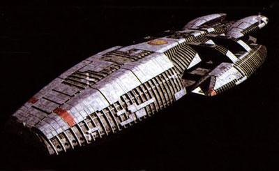 Battlestar Galactica 1/4105 Battlestar Galactica Plastic Model(Released)(バトルスター・ギャラクティカ 1/4105 バトルスター・ギャラクティカ プラモデル)