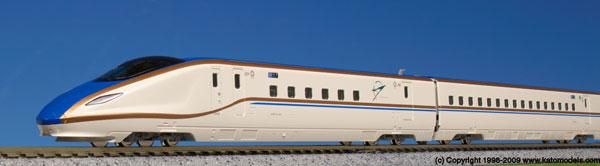10-1263 W7系北陸新幹線「はくたか」 6両増結セット[KATO]《取り寄せ※暫定》