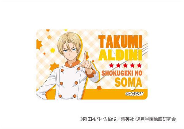食戟のソーマ ICカードステッカー 05 タクミ(Shokugeki no Soma - IC Card Sticker 05: Takumi(Released))