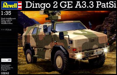 1/35 Dingo 2 A3. 3 PatSi Plastic Model(Back-order)(1/35 ディンゴ 2 A3. 3 PatSi プラモデル)