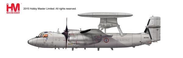 """1/72 E-2C ホークアイ """"フランス海軍""""[ホビーマスター]《取り寄せ※暫定》"""