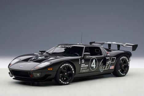 1/18 フォード GT LM スペックII テストカー (カーボンブラック)(再販)[オートアート]《取り寄せ※暫定》