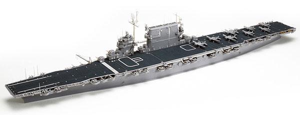 スケール限定 1/700 アメリカ海軍 航空母艦 CV-3 サラトガ(ポントスモデル社製ディテールアップパーツ付き) プラモデル[タミヤ]《取り寄せ※暫定》