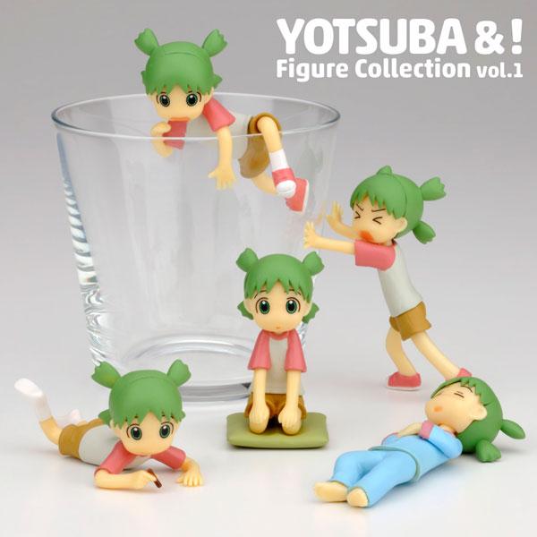 """Yotsuba&!"" Figure Collection vol.1 10Pack BOX(Released)(「よつばと!」フィギュアコレクション vol.1 10個入りBOX)"