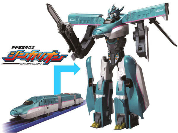Shinkansen Henkei Robo Shinkalion E5 Series Hayabusa(Released)(新幹線変形ロボ シンカリオン E5系 はやぶさ)