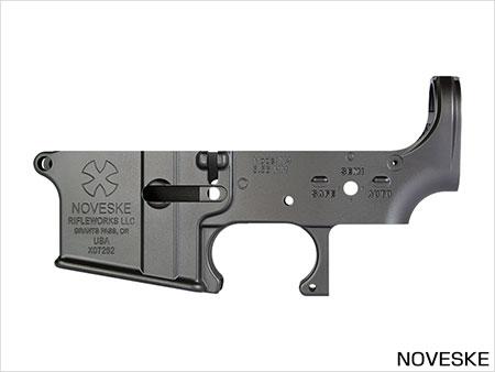 次世代電動ガン M4シリーズ用 MG ロアフレーム NOVESKE[ライラクス]《取り寄せ※暫定》