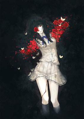 "Miki Sugina Artwork Collection Vol.2 ""Kasou"" (BOOK)(Released)(杉菜水姫作品第二集『花葬』(書籍))"