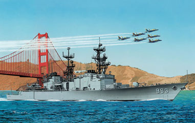 1/700 U.S. Navy Destroyer Spruance DD-963 Plastic Model(Back-order)(1/700 アメリカ海軍 駆逐艦 スプルーアンス DD-963 プラモデル)