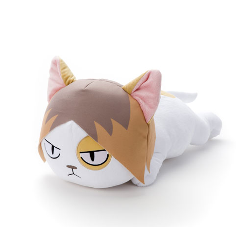Haikyuu!! - BIG Plush (Nekoma Neko' Kenma)(Released)(ハイキュー!! BIGぬいぐるみ(音駒ネコ・孤爪))