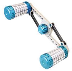 リボルバーS 80mm(右用) ブルー[DRESS]《取り寄せ※暫定》