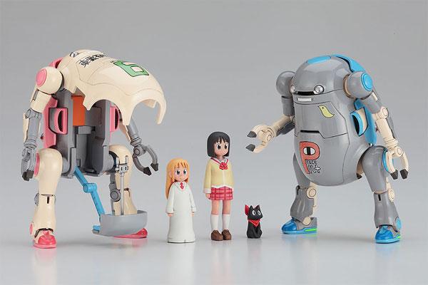 """クリエイターワークスシリーズ 1/35 メカトロ ウィーゴ No.04 """"ウォーム&クール""""【東雲研究所ver.】 プラモデル(Creator Works Series 1/35 Mechatro WeGo No.04 Warm & Cool [Shinonome Lab Ver] Plastic Model(Released))"""