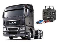 1/14 RCトラック MAN TGX 26. 540 6×4 XLX (ガンメタエディション) フルオペレーションセット[タミヤ]【送料無料】《在庫切れ》