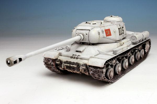 1/35 Girls und Panzer IS-2 Pravda Girls' High School Plastic Model w/First Release Limited Bonus(Released)(1/35 ガールズ&パンツァー IS-2 プラウダ高校 初回限定特典付き プラモデル)