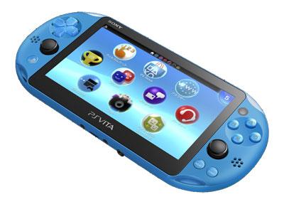 PlayStation Vita Wi-Fiモデル アクア・ブルー[SCE]【送料無料】《在庫切れ》