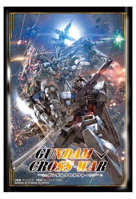 GUNDAM CROSS WAR オフィシャルスリーブ 【GCW-S01】 パック(GUNDAM CROSS WAR - Official Sleeve [GCW-S01] Pack(Back-order))
