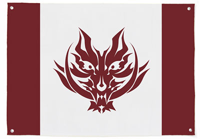 GOD EATER - Fenrir Flag(Pre-order)(GOD EATER フェンリル フラッグ)