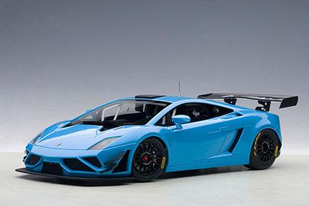 1/18スケール モデルカー (オートアート・コンポジットモデル) ランボルギーニ ガヤルド GT3 FL2 2013 (ブルー)[オートアート]《取り寄せ※暫定》