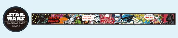 Star Wars - Masking Tape (2) COMIC:B(Released)(STAR WARS マスキングテープ (2)COMIC:B)