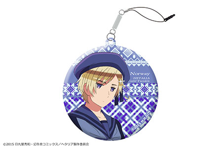 Hetalia The World Twinkle - Smartphone Cleaner: 12 (Norway)(Released)(「ヘタリア The World Twinkle」スマホクリーナー 12(ノルウェー))