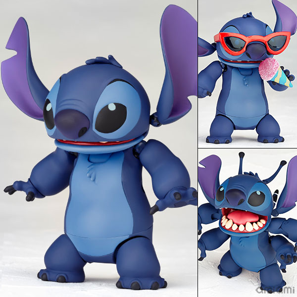 "Figure Complex MOVIE REVO Series No.003 ""Lilo & Stitch"" Stitch (Prototype No.626)(Released)(フィギュアコンプレックス MOVIE REVO Series No.003 『リロ&スティッチ』 スティッチ(試作品626号))"